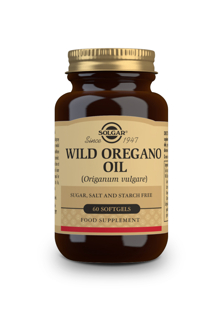 Wild Oregano Oil Softgels   Pack of 60 | Solgar Vitamins & Supplements