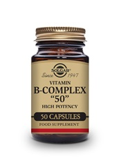 Formula Vitamin B Complex ''50'' High Potency Vegetable Capsules   Pack of 50 | Solgar Vitamins & Supplements