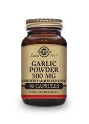 Garlic Powder 500 mg Vegetable Capsules   Pack of 90 | Solgar Vitamins & Supplements