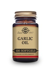 Garlic Oil Softgels   Pack of 100 | Solgar Vitamins & Supplements