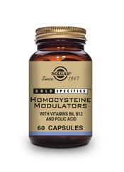 Gold Specifics Homocysteine Modulators Vegetable Capsules   Pack of 60 | Solgar Vitamins & Supplements