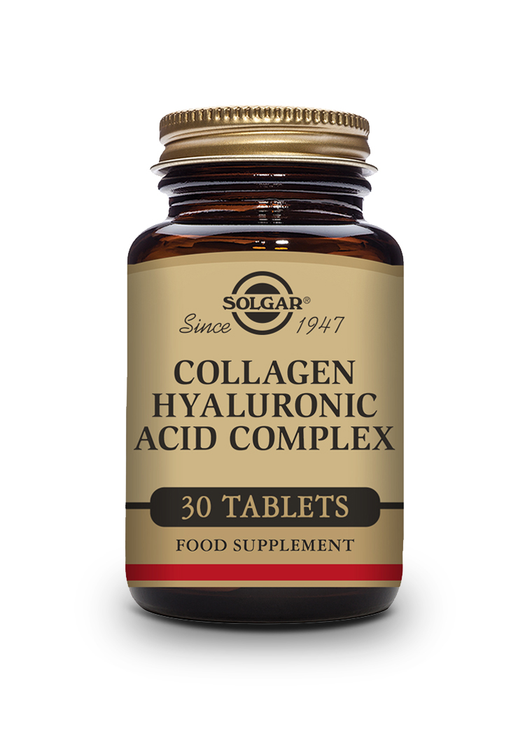 Collagen Hyaluronic Acid Complex Tablets   Pack of 30 | Solgar Vitamins & Supplements