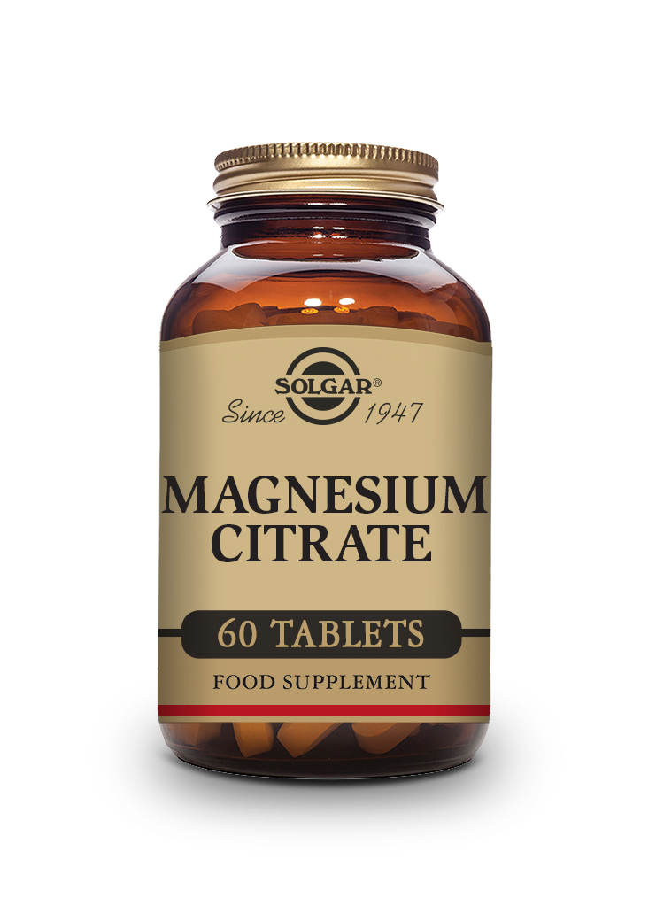 Magnesium Citrate Tablets   Pack of 60 | Solgar Vitamins & Supplements