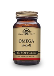 Omega 3 6 9 Softgels  Pack of 60 | Solgar Vitamins & Supplements