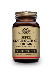 Super Starflower Oil 1300 mg Softgels   Pack of 30 | Solgar Vitamins & Supplements