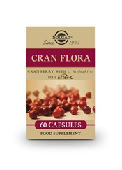 Cran Flora Cranberry Vegetable Capsules   Pack of 60 | Solgar Vitamins & Supplements