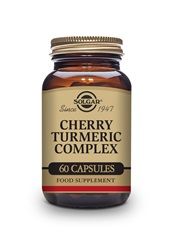 Cherry Turmeric Complex vegetable capsules   Pack of 60 | Solgar Vitamins & Supplements