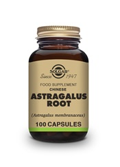 Chinese Astragalus Root Vegetable Capsules   Pack of 100 | Solgar Vitamins & Supplements