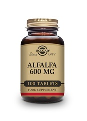 Alfalfa 600 mg Tablets   Pack of 100 | Solgar Vitamins & Supplements