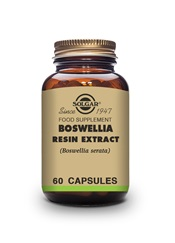 Boswellia Resin Extract Vegetable Capsules   Pack of 60 | Solgar Vitamins & Supplements